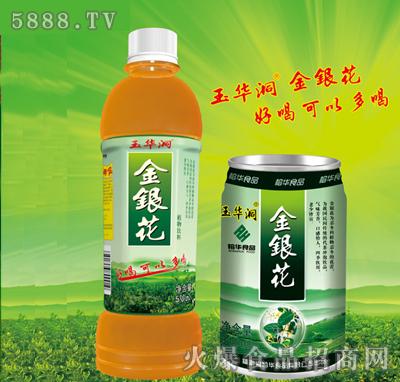 玉华洞金银花植物饮料pe瓶装