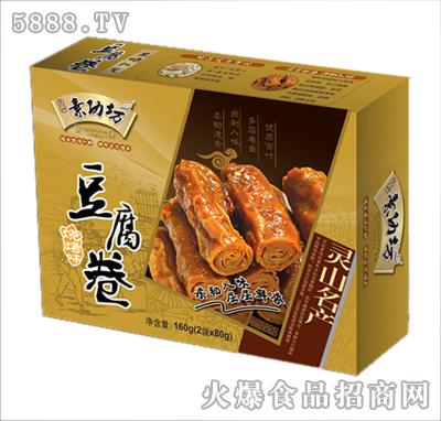 素功坊160克豆腐卷-烧烤味
