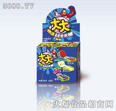 大大泡泡糖什锦味(盒)
