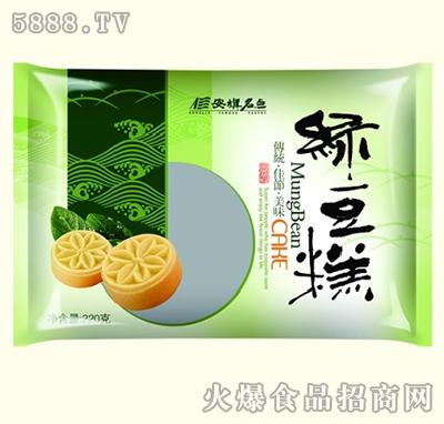 西旗伍仁绿豆糕220g