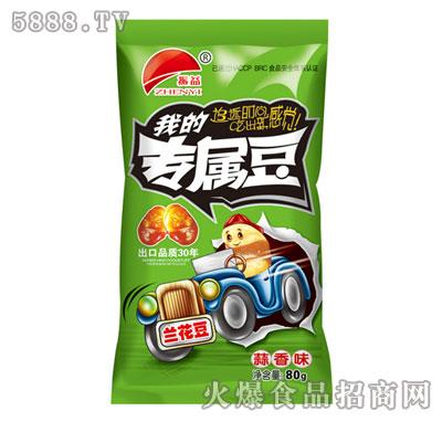 振益兰花豆蒜香味80g