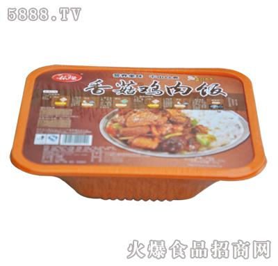 春缘香菇鸡肉饭
