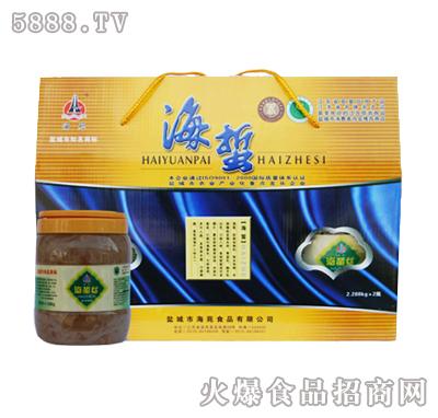 海苑盐渍脆海蜇丝瓶装礼盒(黄)产品图