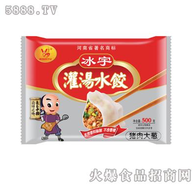 冰宇灌汤水饺(猪肉大葱)500g