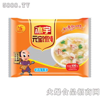 冰宇元宝混沌(猪肉大葱)450g