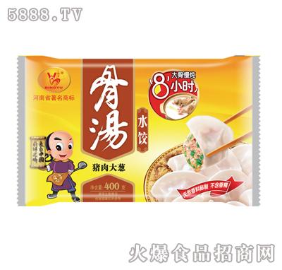 骨汤水饺(猪肉大葱)400g