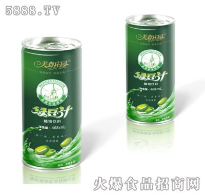 美森庄园绿豆汁468ml