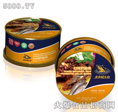 多多罐头鱼150g豆豉巴浪鱼