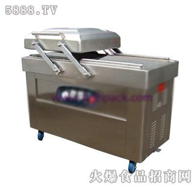露金dz-500-2sc双室平板真空包装机