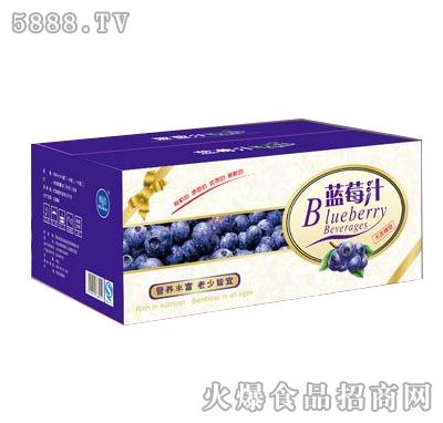 蓝莓汁箱装