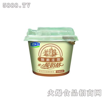 酪爵庄园欧式酸奶