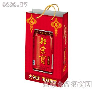 郑宗宝凉茶310ml手提袋