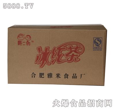 新二郎60支箱装仿瓶装塑袋果味饮料(红茶味)