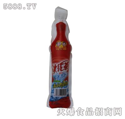 新二郎仿瓶装塑袋果味饮料(红茶味)