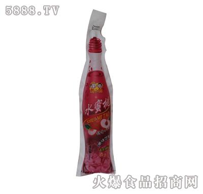 新二郎仿瓶装塑袋果味饮料(水蜜桃味)