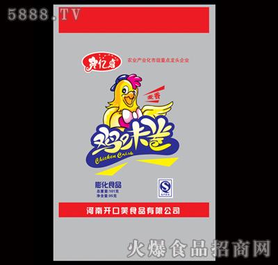 101g膨化食品2元鸡味卷