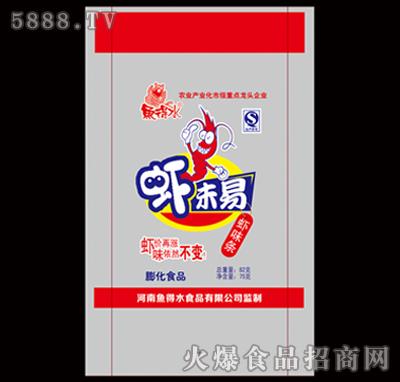 82g膨化食品1.5元虾条