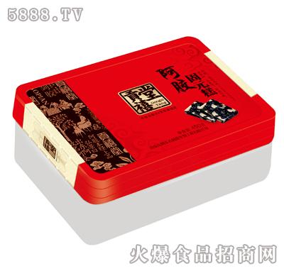 塑料盒阿胶固元糕450克