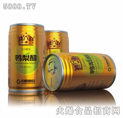 金冠鸭梨醋310ml