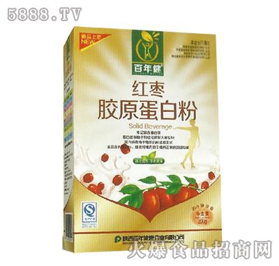 百年健红枣蛋白粉