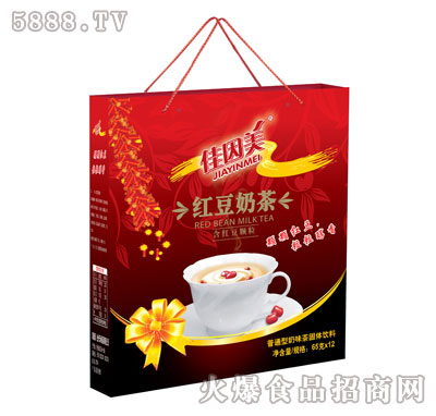 佳因美红豆奶65克×12杯产品图