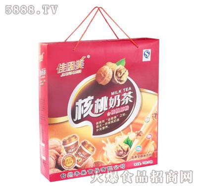 佳因美核桃奶茶80克×12杯产品图
