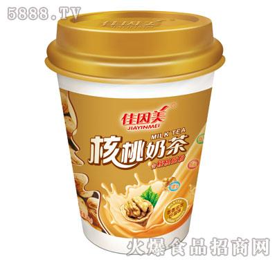 佳因美核桃味奶茶80克