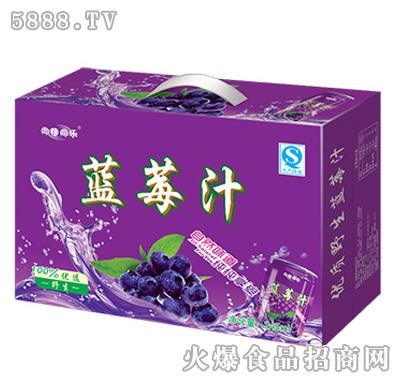 同禧同乐蓝莓汁箱装