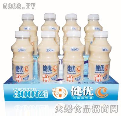 健优C348ml×8瓶乳酸菌盒装