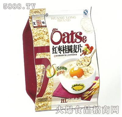 800g皇隆红枣桂圆麦片