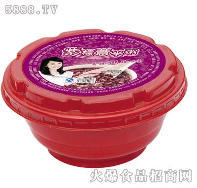 紫糯薏米碗粥