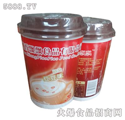 麦香香红豆味奶茶