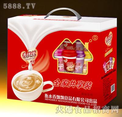 香优优奶茶全家共享装产品图