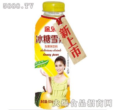 500ml途乐冰糖雪梨瓶 图片_火爆食品饮料招商网【5888