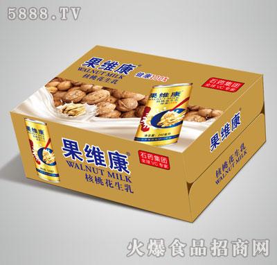 果维康核桃花生乳高罐箱