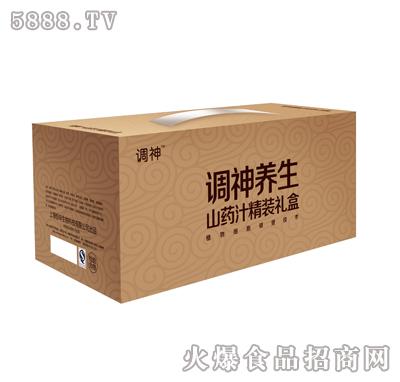 调神养生山药汁精装礼盒产品图
