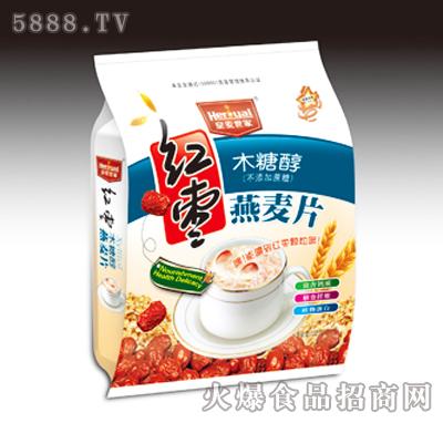 皇麦世家红枣燕麦片