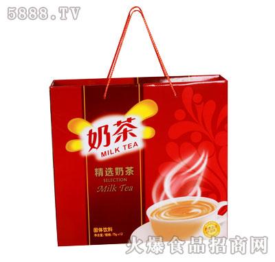 佳因美精选奶茶礼盒装80克×12杯