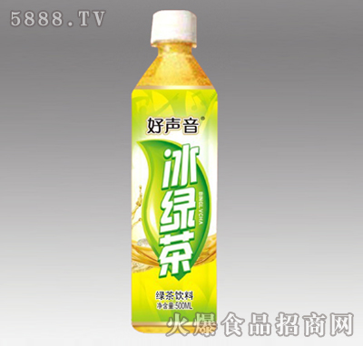 好声音冰绿茶500ml