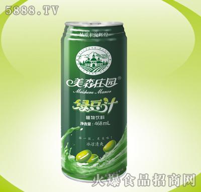 美森庄园绿豆汁468ml植物饮料