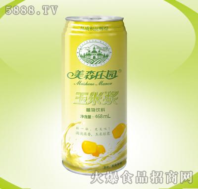 美森庄园玉米浆468ml植物饮料