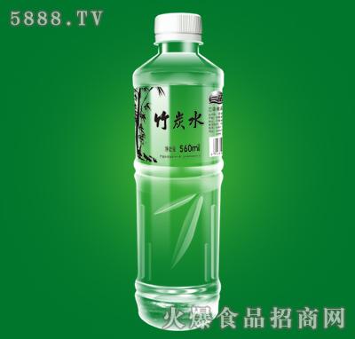 三诺竹炭水560ml