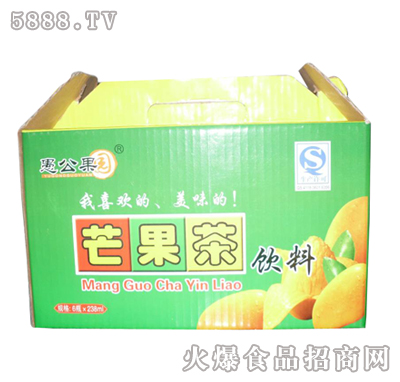 238ml×6瓶愚公果园芒果茶饮料