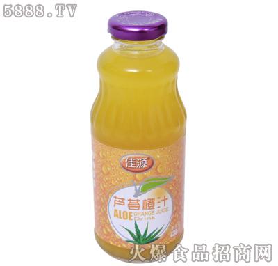 佳源芦荟橙汁430ml