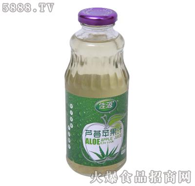 佳源芦荟苹果汁430ml