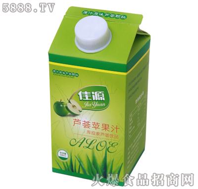 佳源芦荟苹果汁饮品488ml