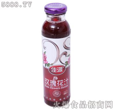 佳源玫瑰花汁300ml