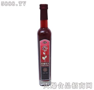 佳源玫瑰花汁350ml