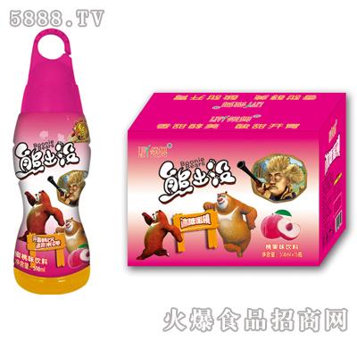 518ml×15瓶领舞熊出没冰糖蜜桃