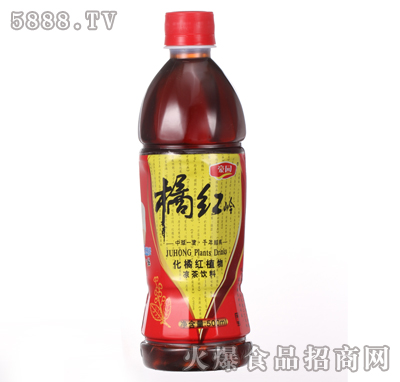 500ml豪园橘红岭植物凉茶产品图